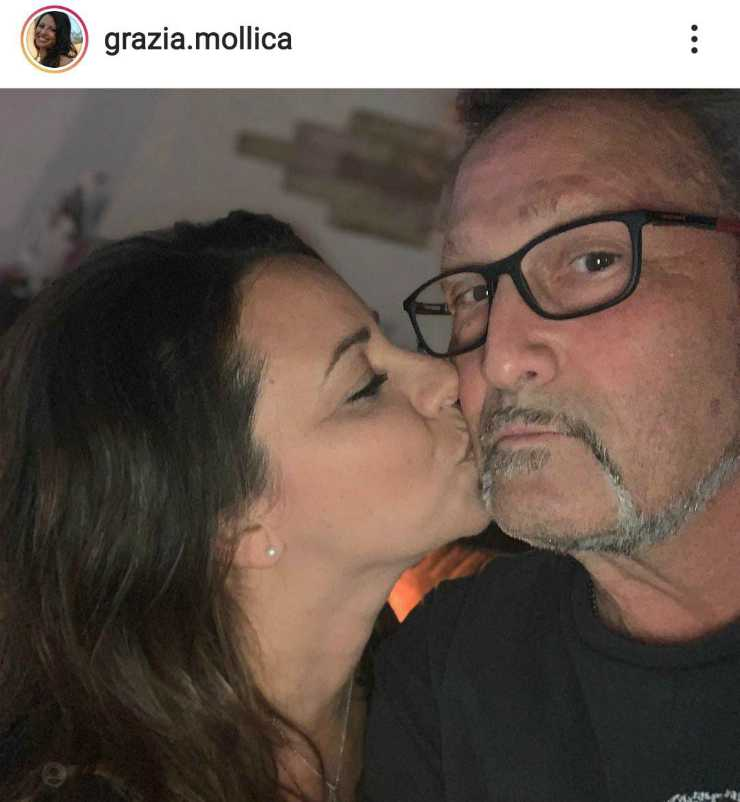 L'amore di Grazia e Steve - Fonte Instagram