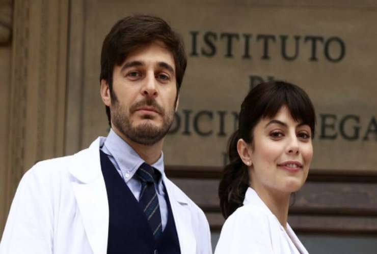 Lino Guanciale e Alessandra Mastronardi - meteoweek
