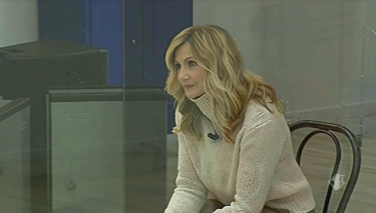 Lorella Cuccarini ad Amici - meteoweek