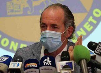 Luca Zaia ricoveri area non critica