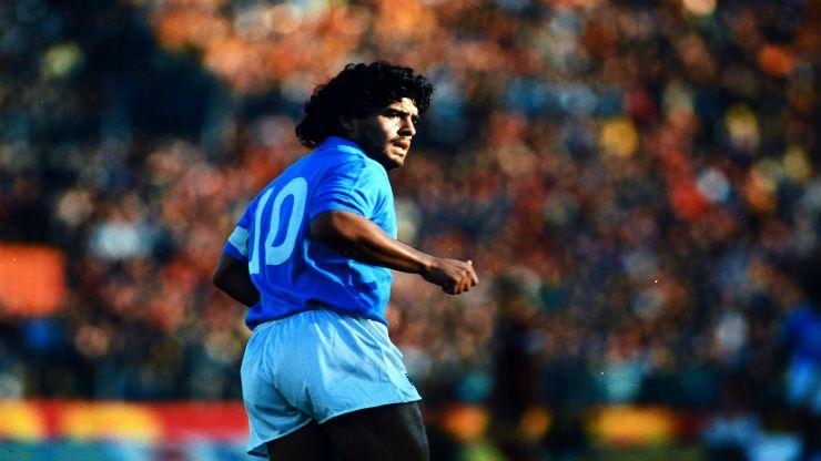 Maradona in campo - meteoweek