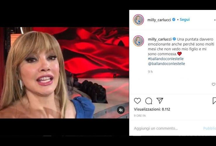 Milly Carlucci – Fonte Instagram