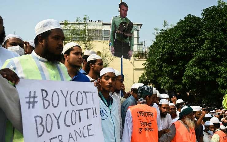 proteste bangladesh francia