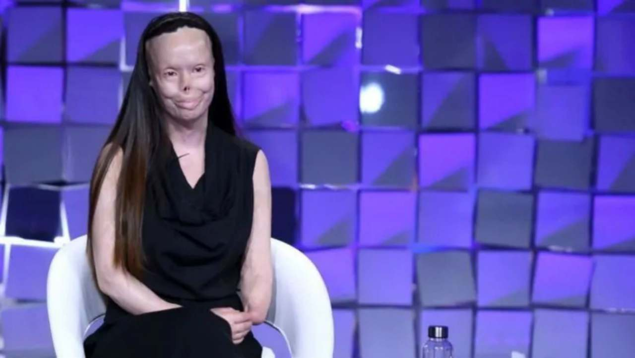 Valentina Pitzalis a Verissimo-meteoweek