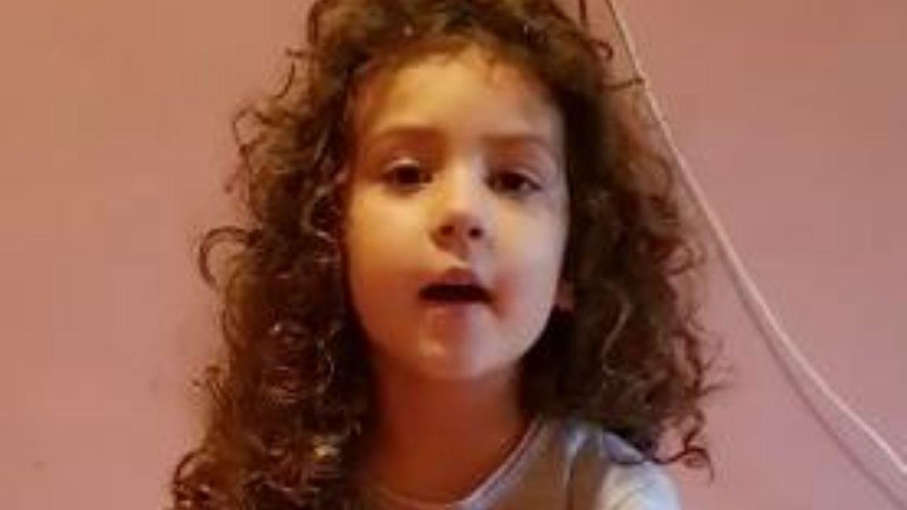 cristel - bambina 5 anni scrive a conte - meteoweek.com