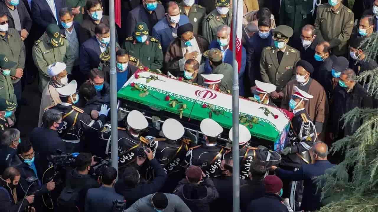 funerali di Mohsen Fakhrizadeh - meteoweek