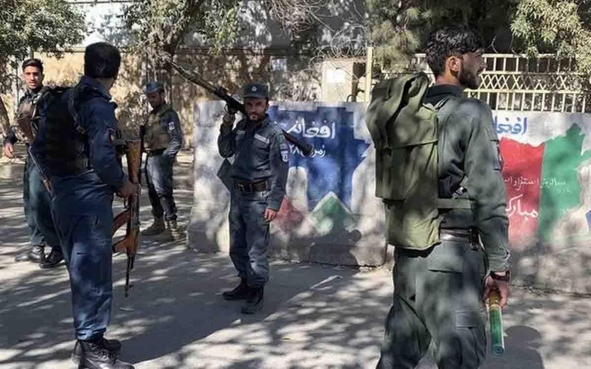 Kabul scontro a fuoco