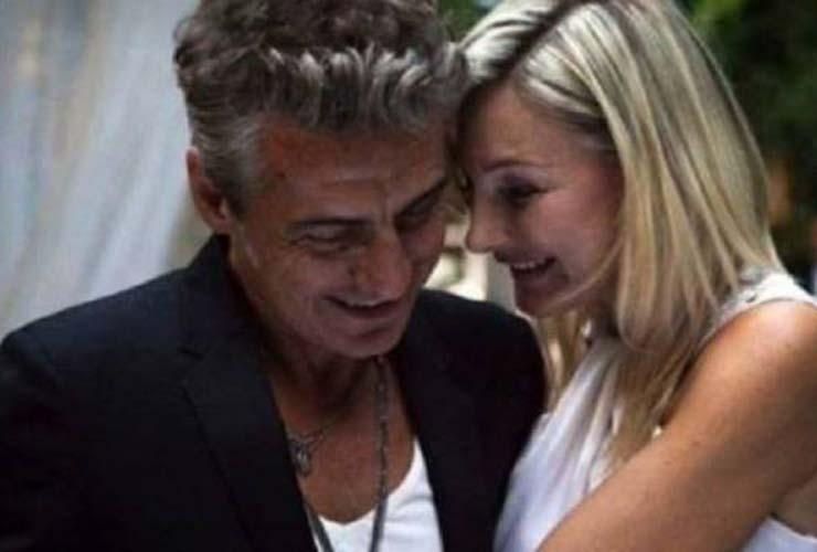 Luciano Ligabue e Barbara Pozzo
