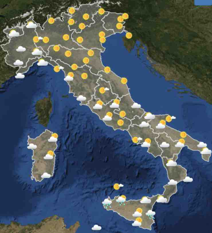 mappa Italia ore 12