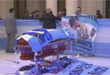 Maradona: sarà sepolto oggi con i genitori a Bella Vista