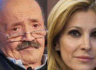 Adriana Volpe e Maurizio Costanzo