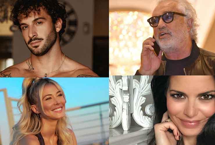 Andreas Muller, Flavio Briatore, Diletta Leotta, Laura Torrisi