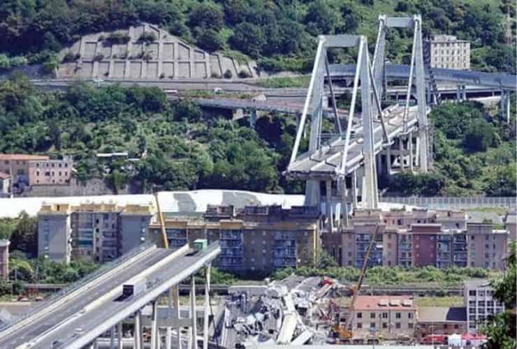 ponte morandi - meteoweek.com - aspi barriere non sostituite