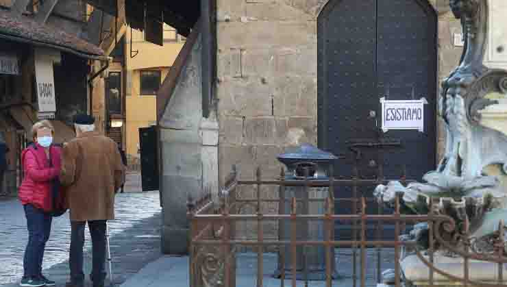 protesta commercianti Firenze esistiamo