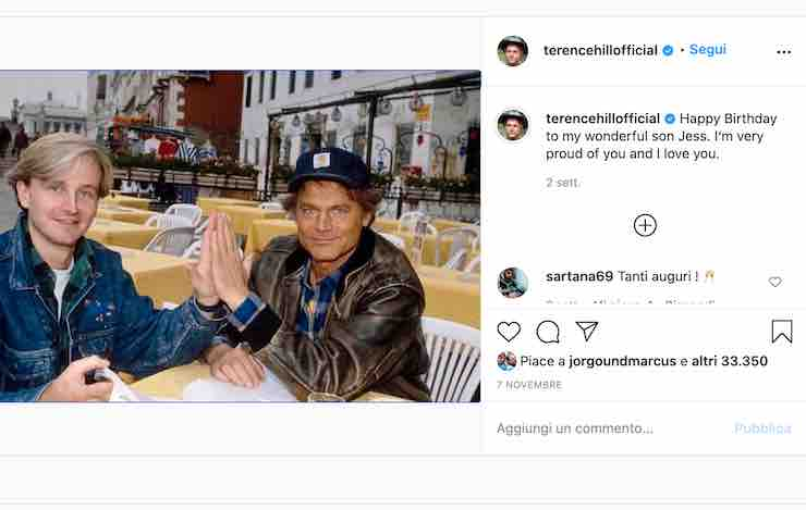 Terence Hill Instagram