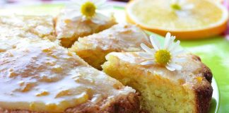 torta cioccolato bianco e arancia