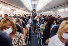 in aereo solo con il vaccino