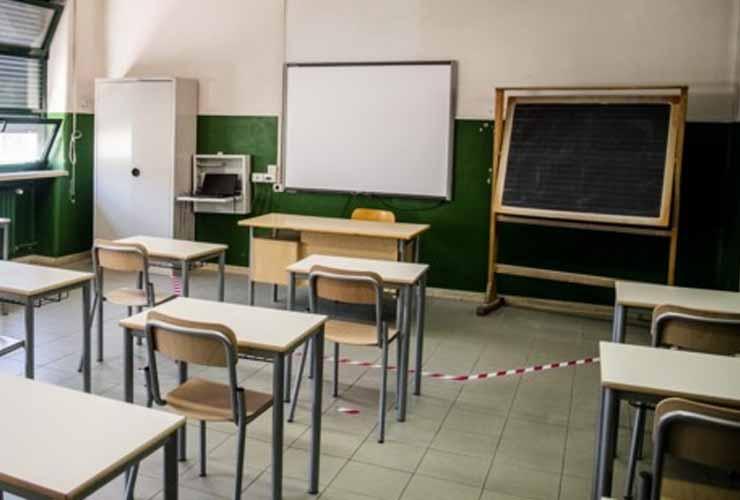 A scuola a 90 anni nonostante la pandemia