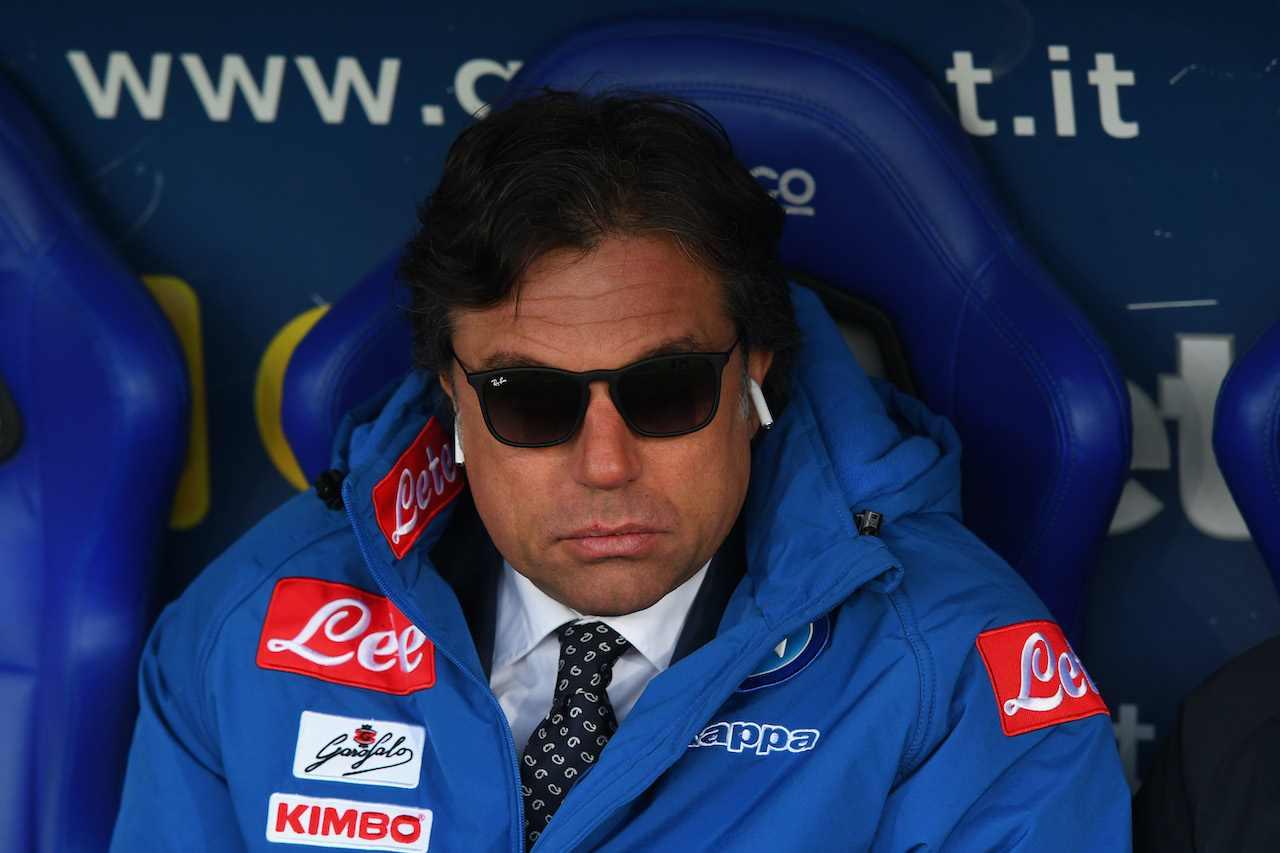 Cristiano Giuntoli, direttore sportivo del Napoli. Getty Images