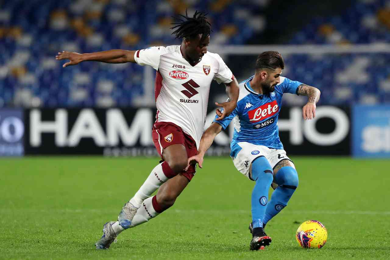Napoli-Torino. Getty Images