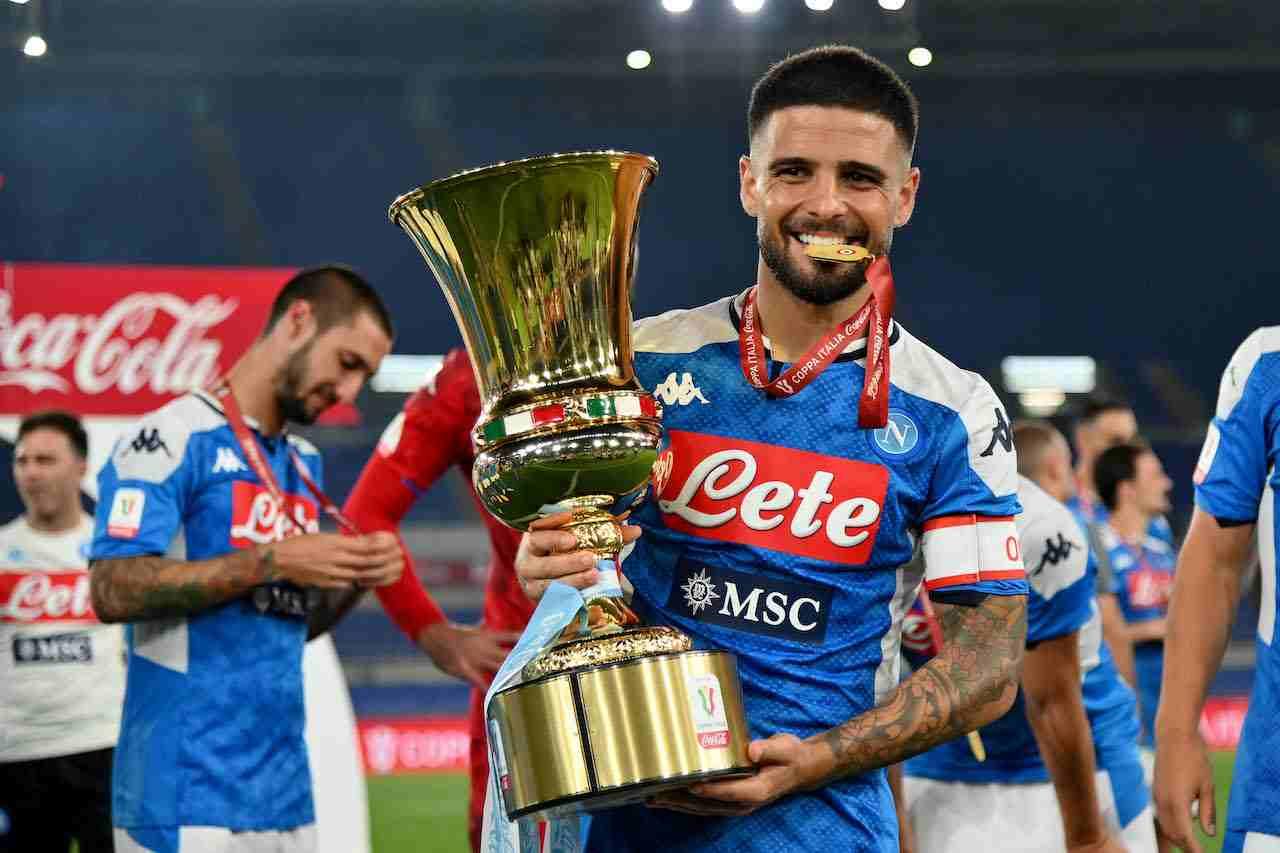 Lorenzo Insigne, attaccante Napoli. Getty Images