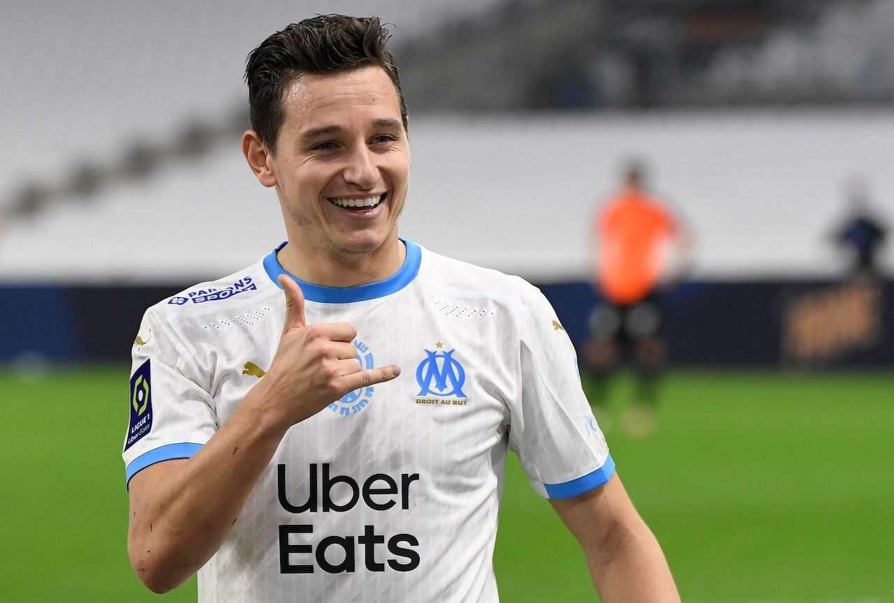 Florian Thauvin, esterno offensivo del Marsiglia. Getty Images