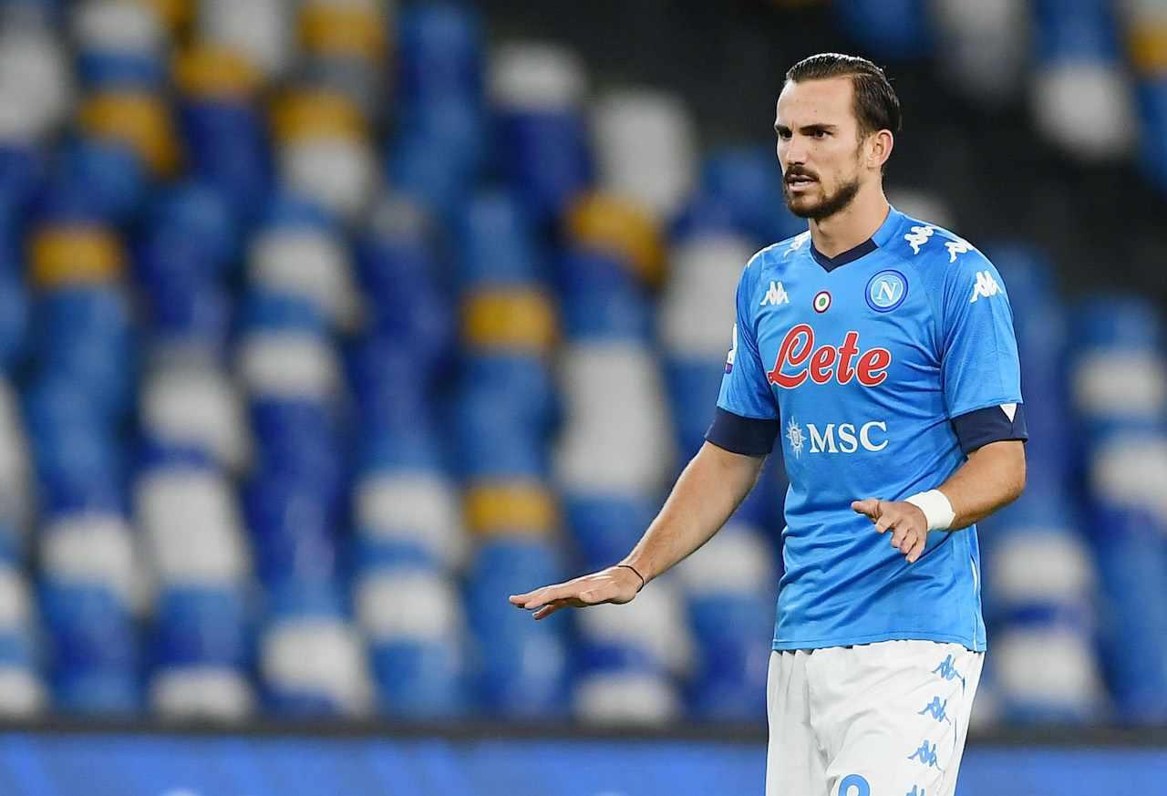 Fabian Ruiz, centrocampista del Napoli. Getty Images