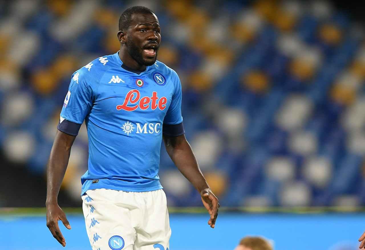 Kalidou Koulibaly, difensore del Napoli. Getty Images