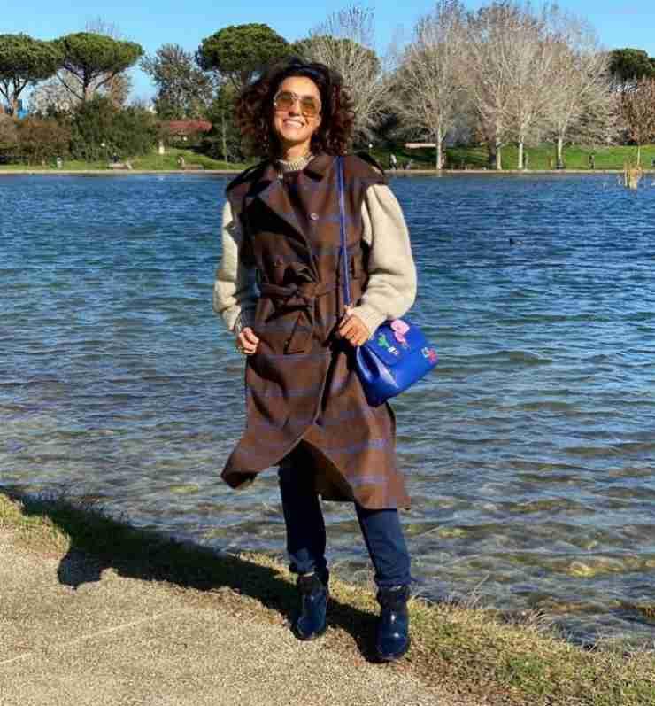 Il cappotto di Caterina Balivo - Meteoweek