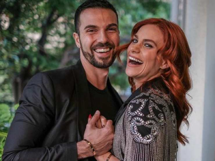La ballerina Alessandra insieme al suo Luca Urso - meteoweek