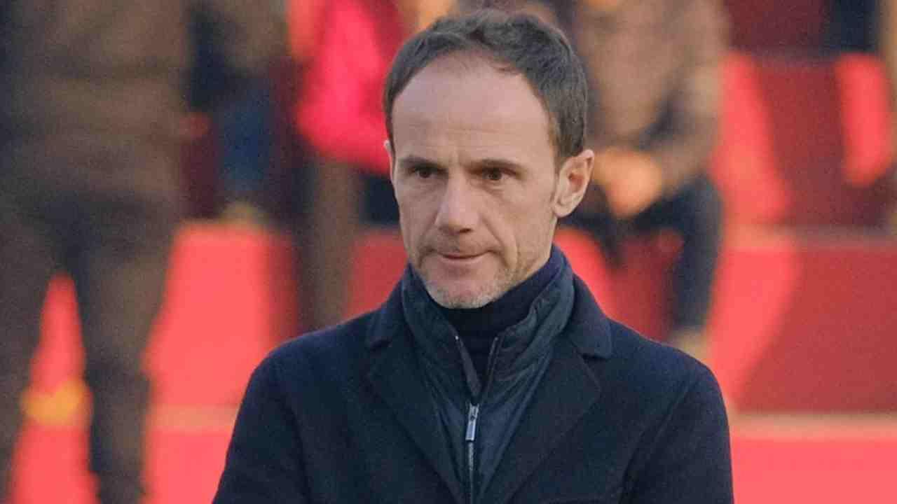 Lecce, il vice-allenatore Salvatore Lanna (foto © Lecce)