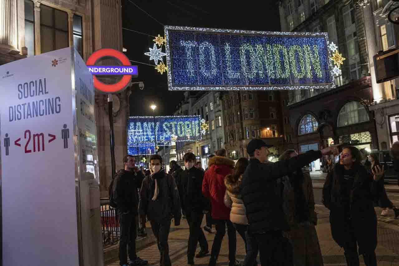 Londra lockdown duro