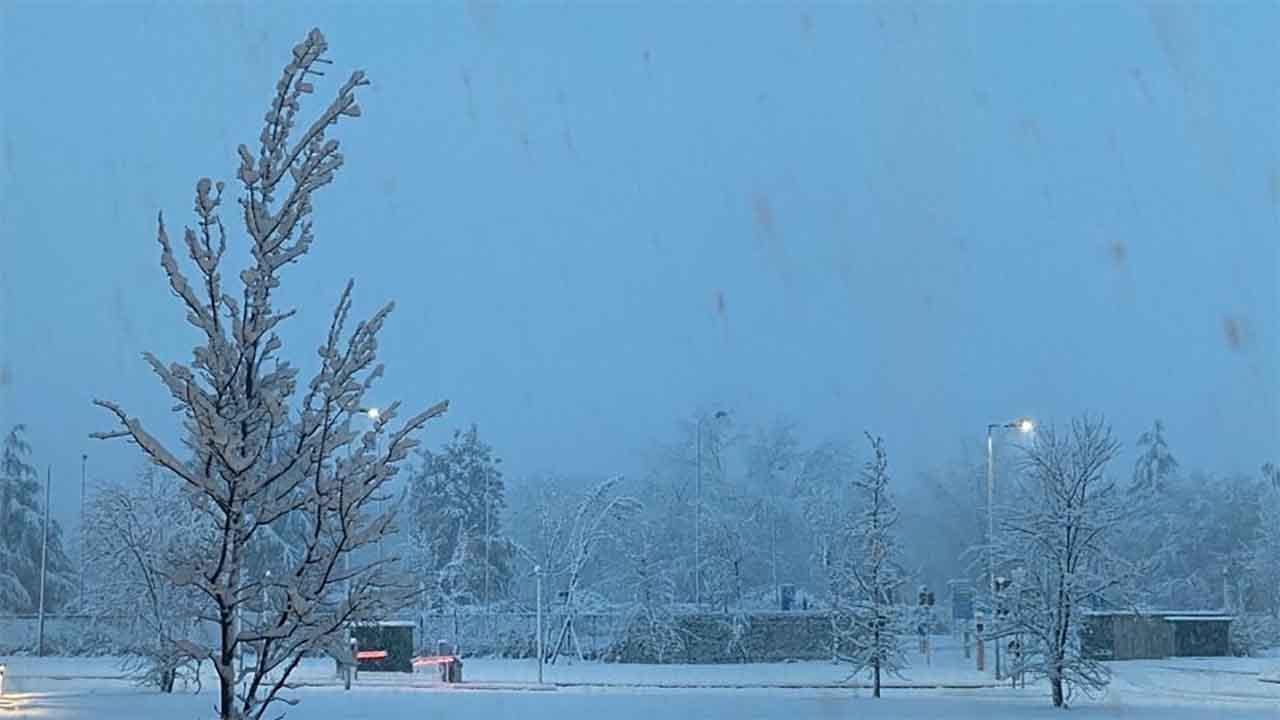 Maltempo Neve Milano
