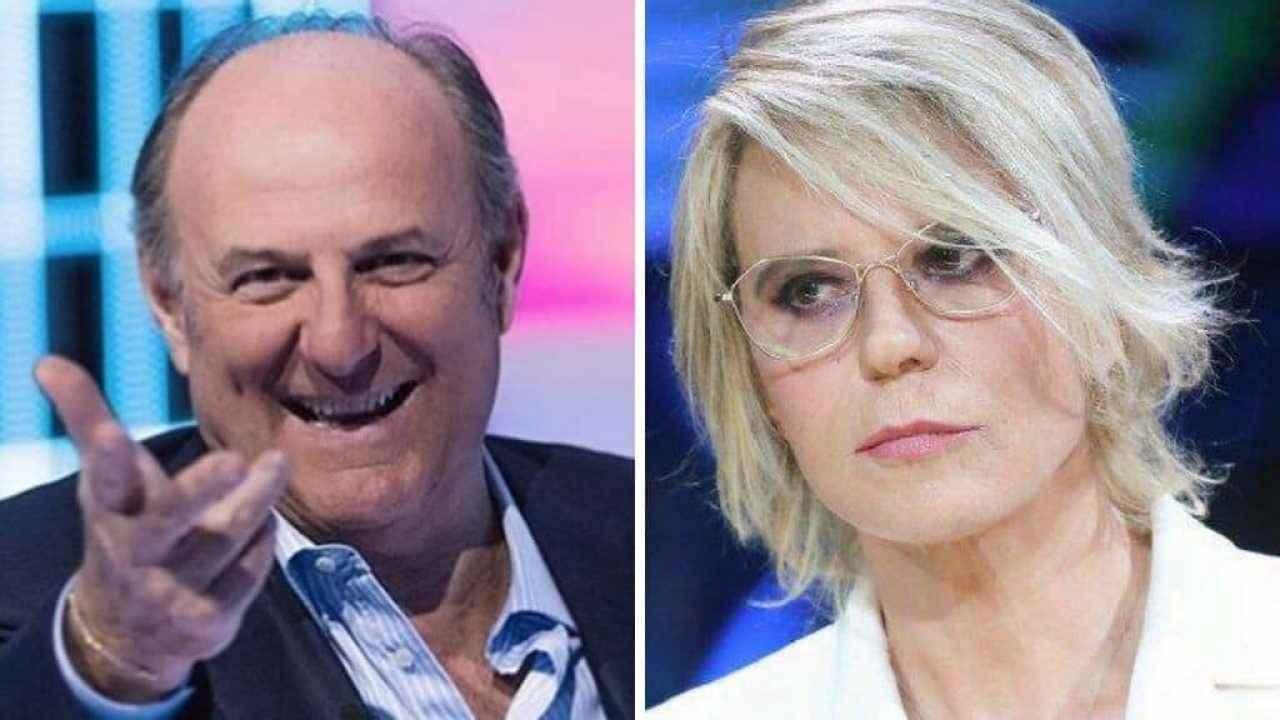 Maria De Filippi e Gerry Scotti - meteoweek