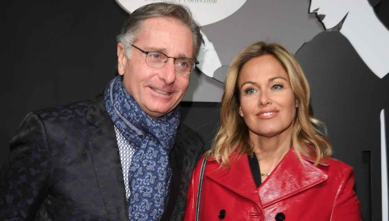 Paolo Bonolis e Sonia Bruganelli - meteoweek