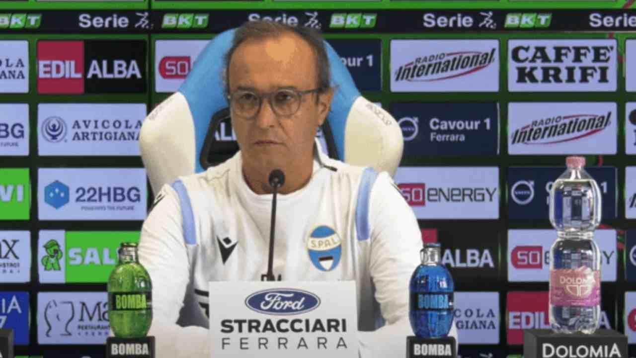 SPAL, il tecnico Pasquale Marino in conferenza stampa, 26 dicembre 2020 (foto© SPAL)