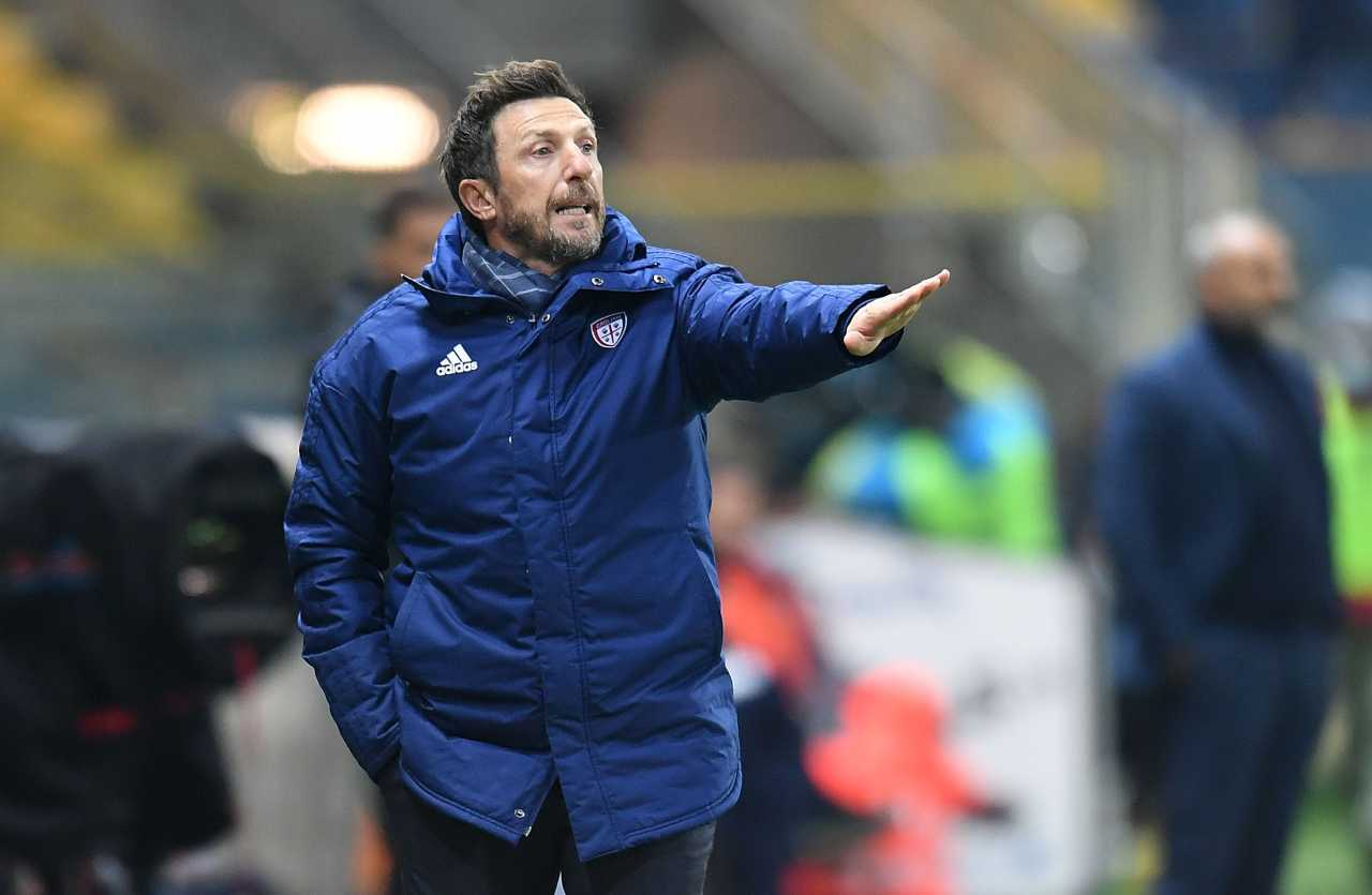 Eusebio Di Francesco, allenatore Cagliari. Getty Images