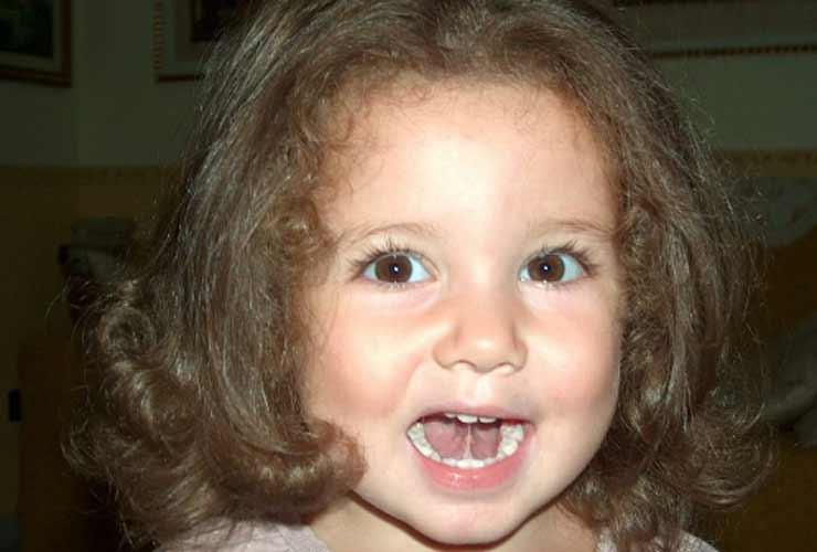 Giulia Scarano da piccola