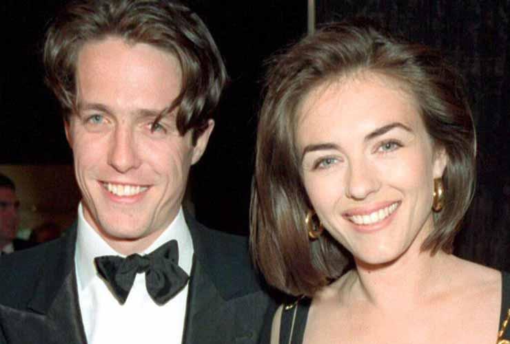 Elizabeth Hurley e Hugh Grant