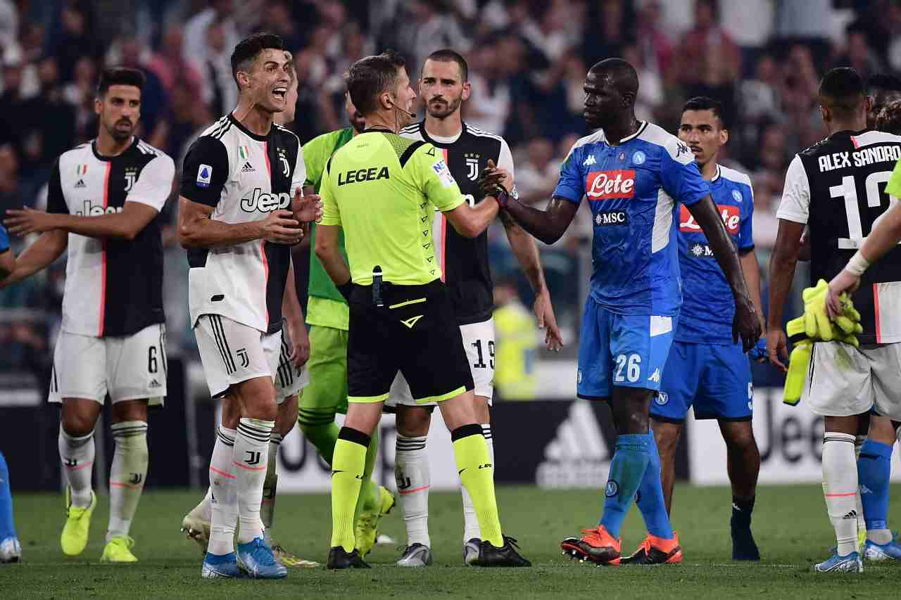 Rebus Juve-Napoli (Photo credit MARCO BERTORELLO/AFP via Getty Images)