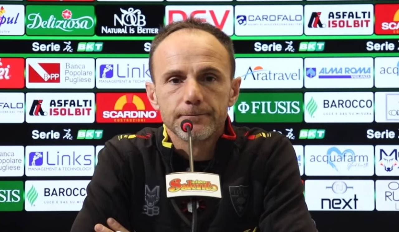 Lecce, il vice-allenatore Salvatore Lanna (foto © U.S. Lecce)