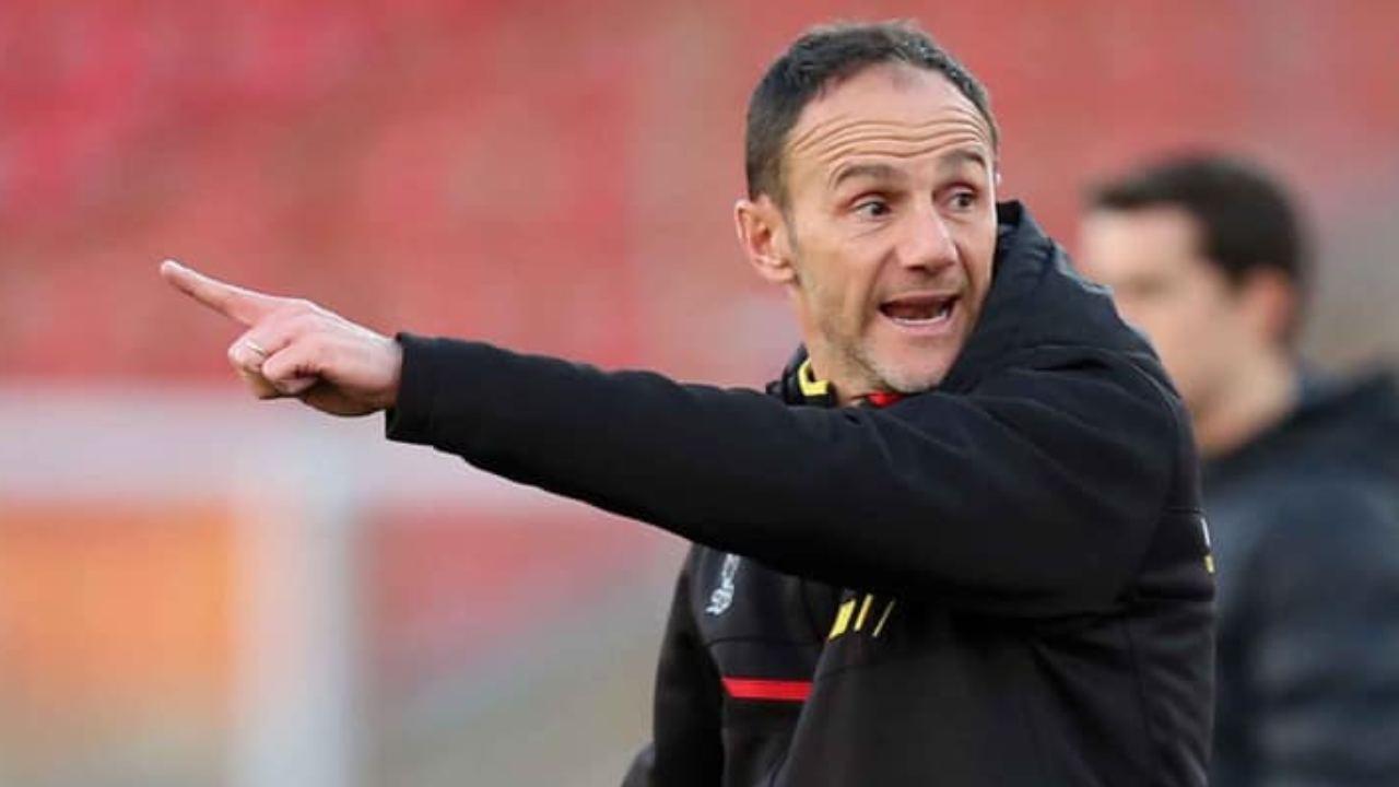 Lecce, il vice-allenatore Salvatore Lanna (foto © Anza e Marco Lezzi)
