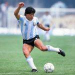 Maradona è apparso in cielo in Argentina: le foto virali sui social