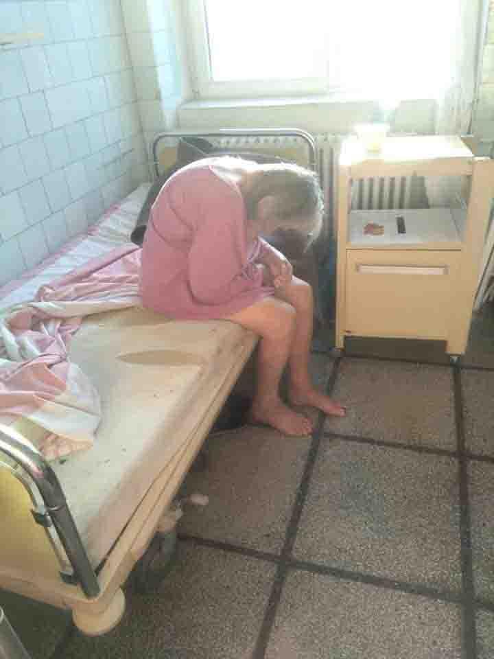immagini da film horror in Romania