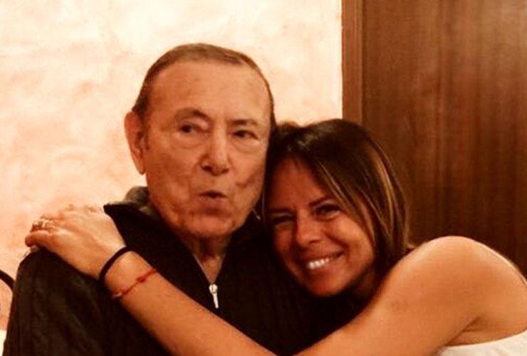 Paola Perego e il padre