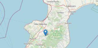 scossa di terremoto in Calabria