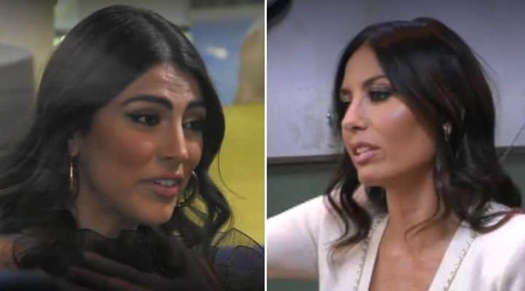 Confronto tra Giulia Salemi ed Elisabetta - meteoweek