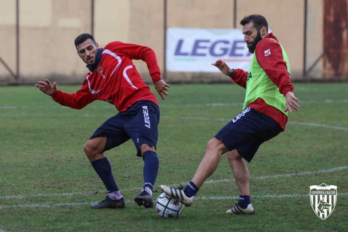 Davide Petrucci e Matteo Legittimo in allenamento