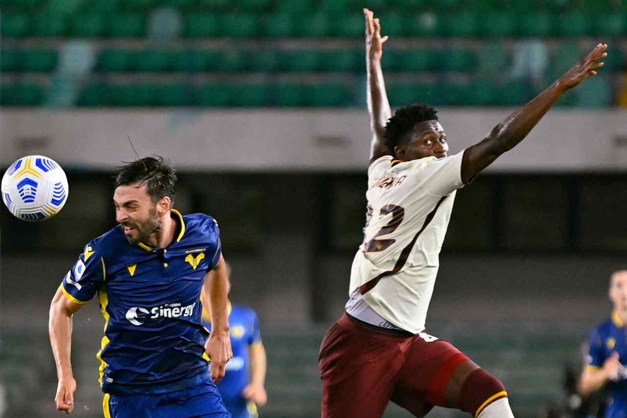 roma-verona finale tabellini e highlights
