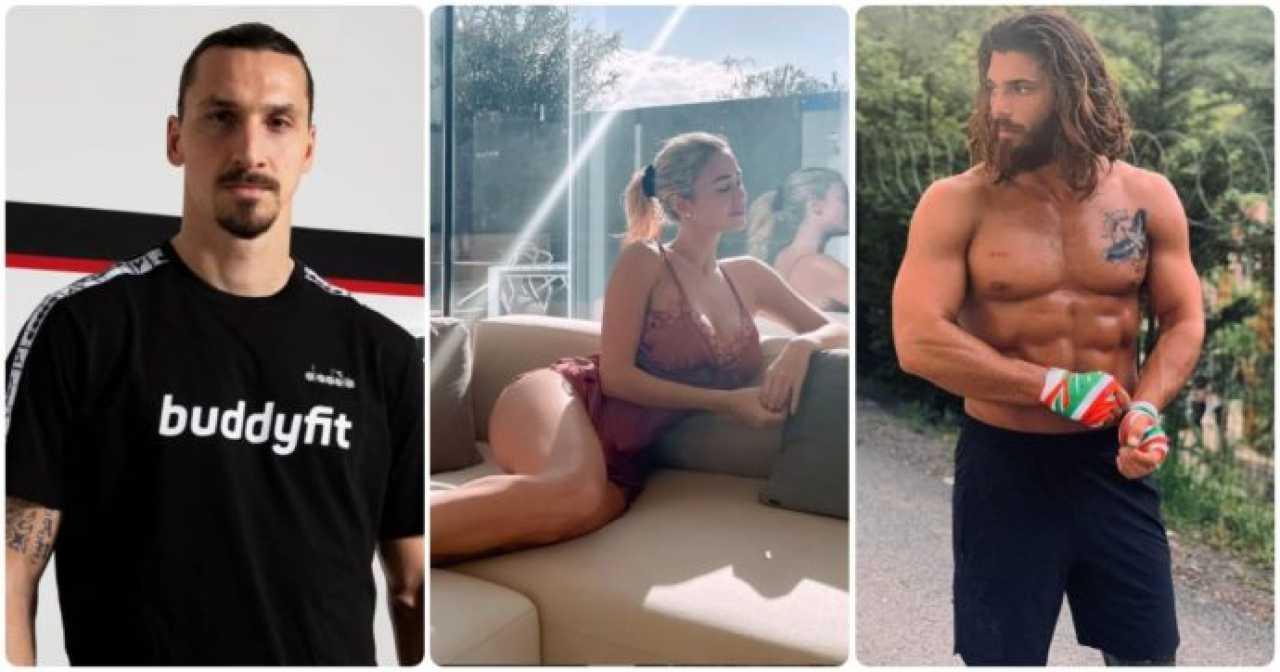 Diletta Leotta, Can Yaman e Zlatan Ibrahimovic - meteoweek